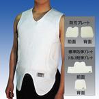 TAKEX防弾・防刃ベスト JPシリーズ アンダーシャツタイプ 前面・背面パネルセット(防刃) JPS-10F/B